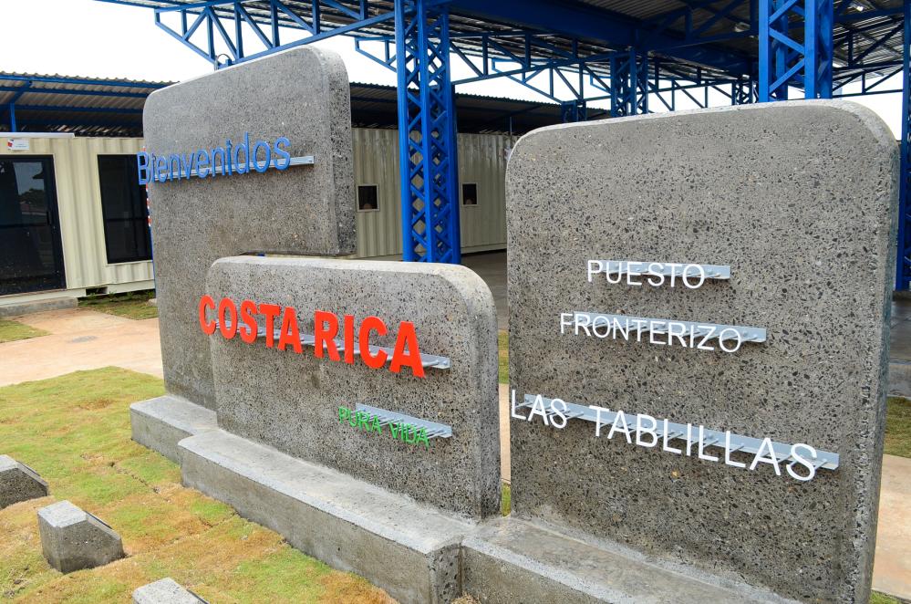 Nuovo valico di frontiera tra Costa Rica e Nicaragua